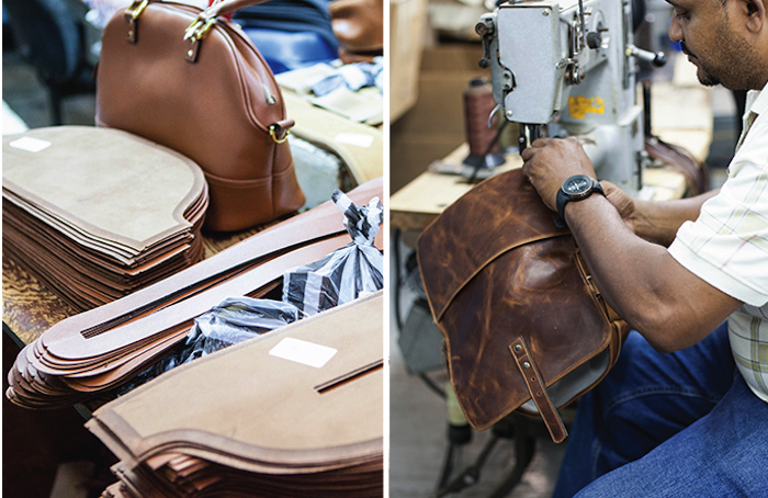 leather bags exporter